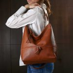 Ženska torba Dara kamel
