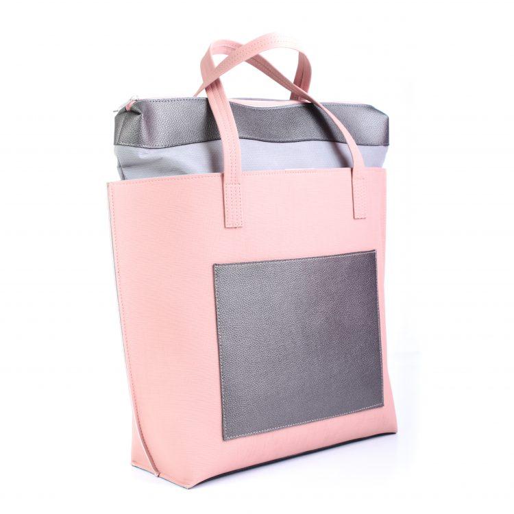 Velika ženska torba Dajana roze